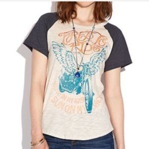 Lucky Brand Free To Ride Graphic Tee